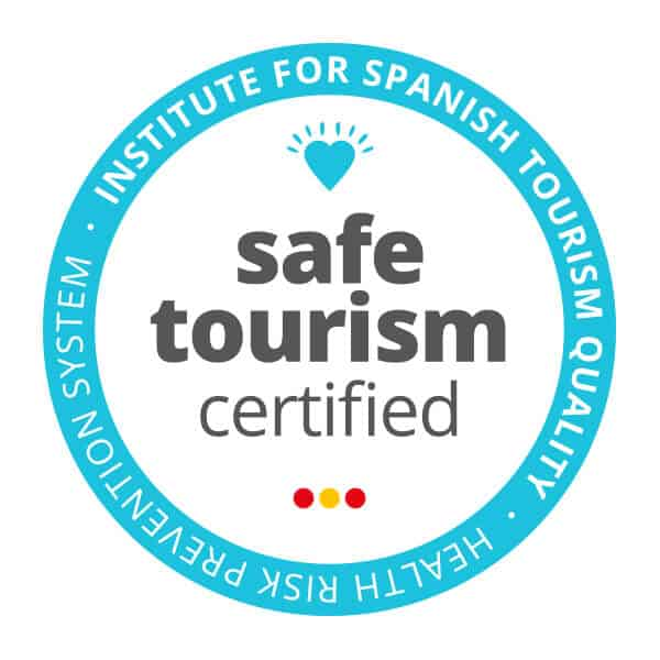 Sello Safe Tourism Certified ICTE